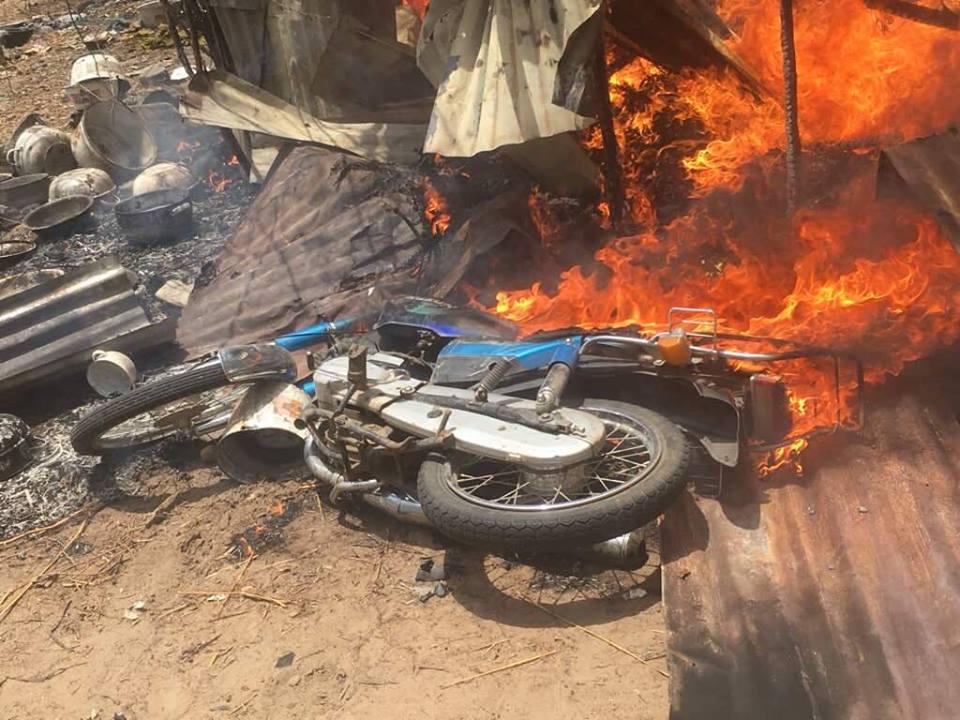 Army Raids Bandits Camps In Zamfara State