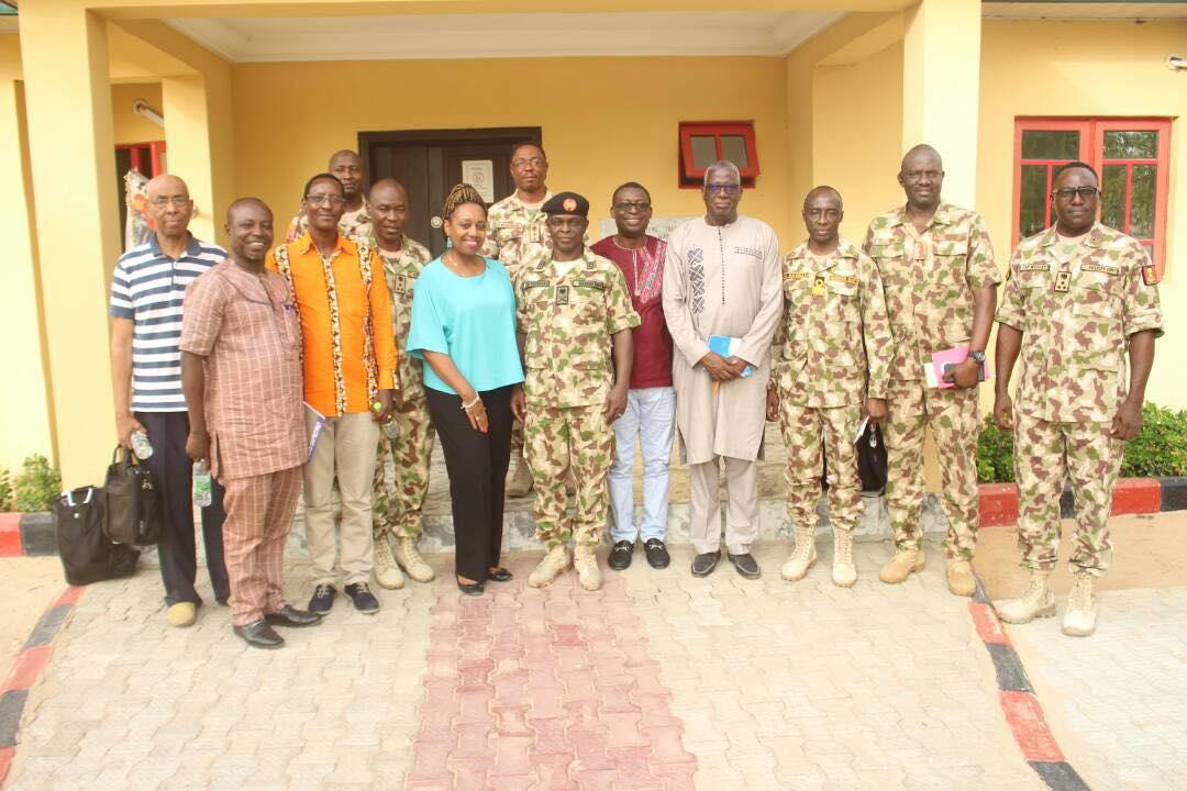 General Nicholas Urges For Speedy Restoration Of Socio-Economic Development In Chad Basin