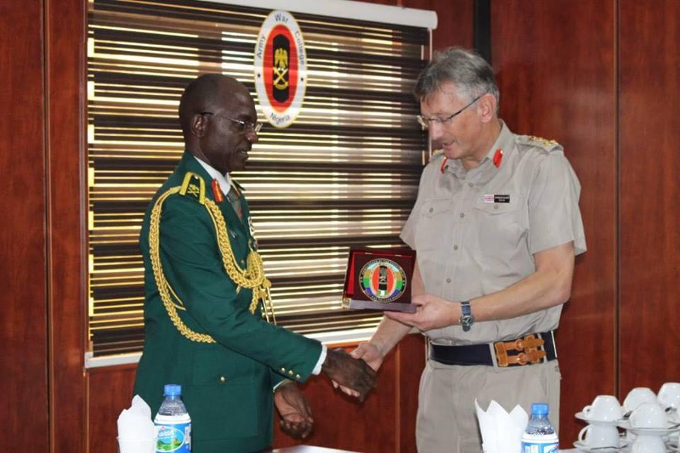 United Kingdom Defence Adviser Donates Books To Nigerian Army