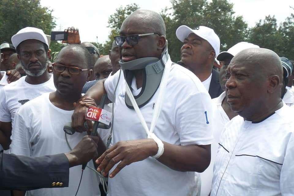 I Won't Run Away From Nigeria - Fayose