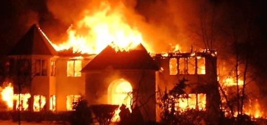 President Buhari Condoles With Jos Market Fire Victims