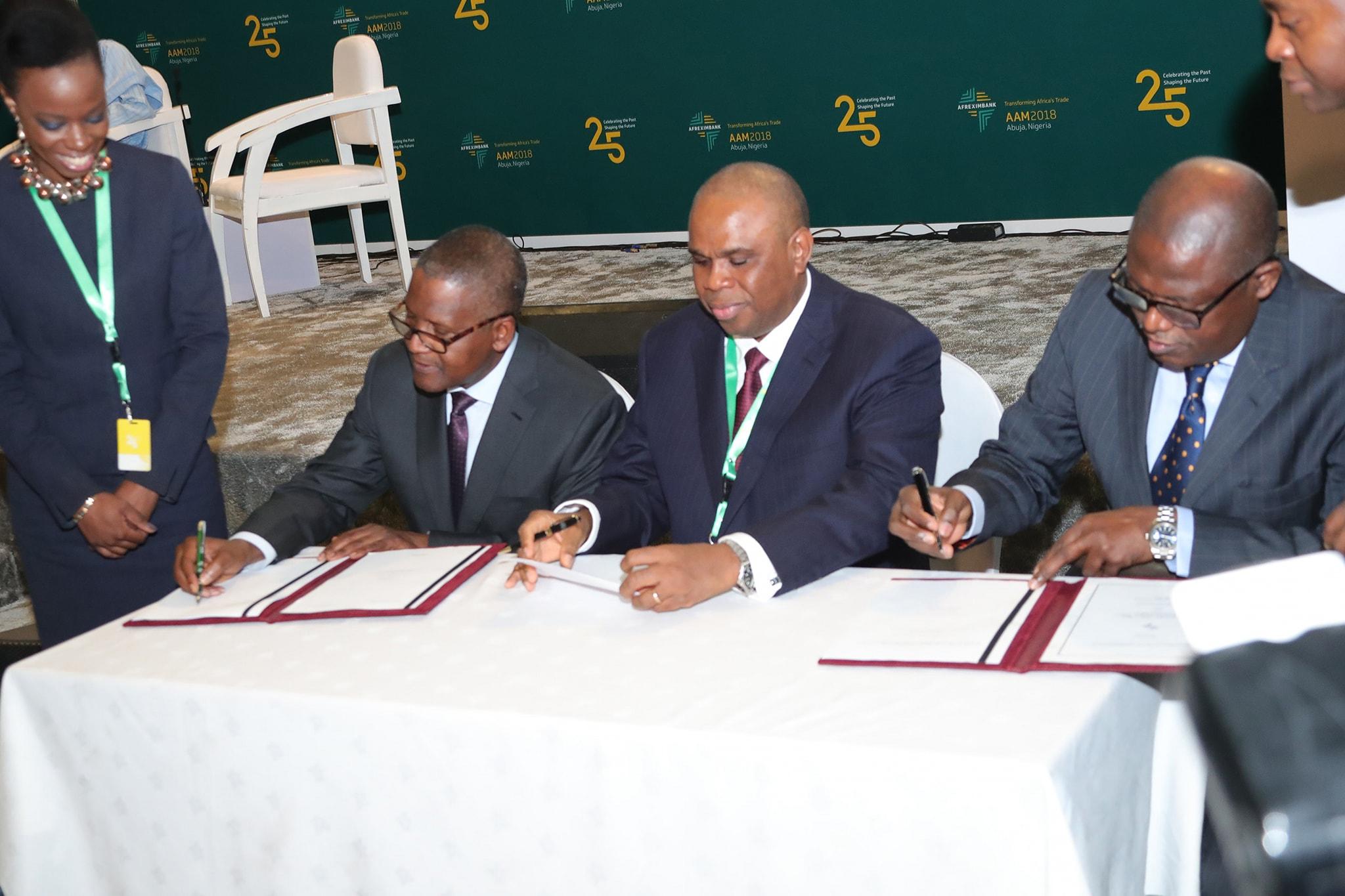 Dangote Secures $650 million Afreximbank Loan for Lekki Refinery