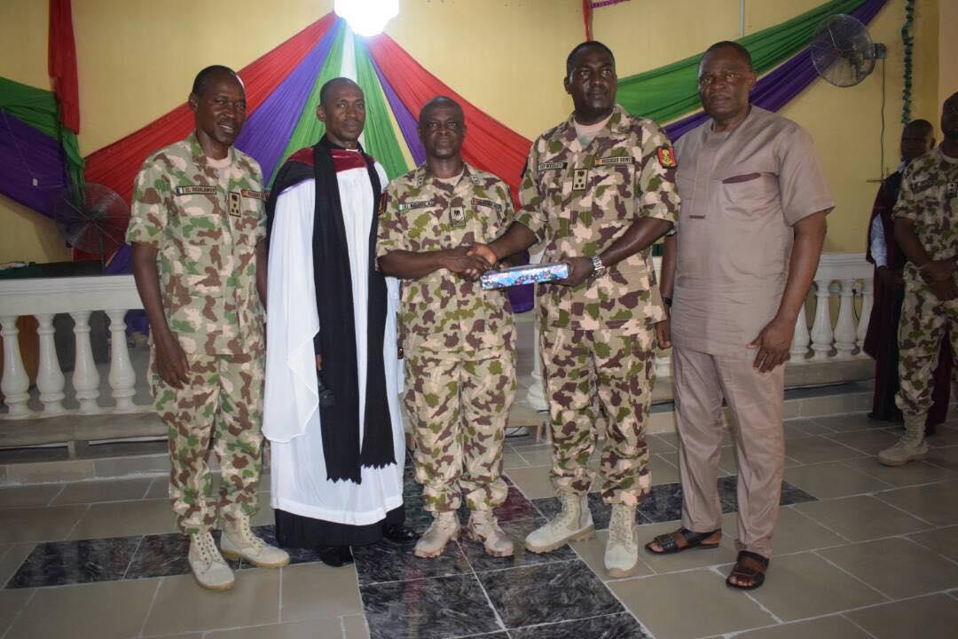 General Nicholas Honoured In Church Valedictory Service