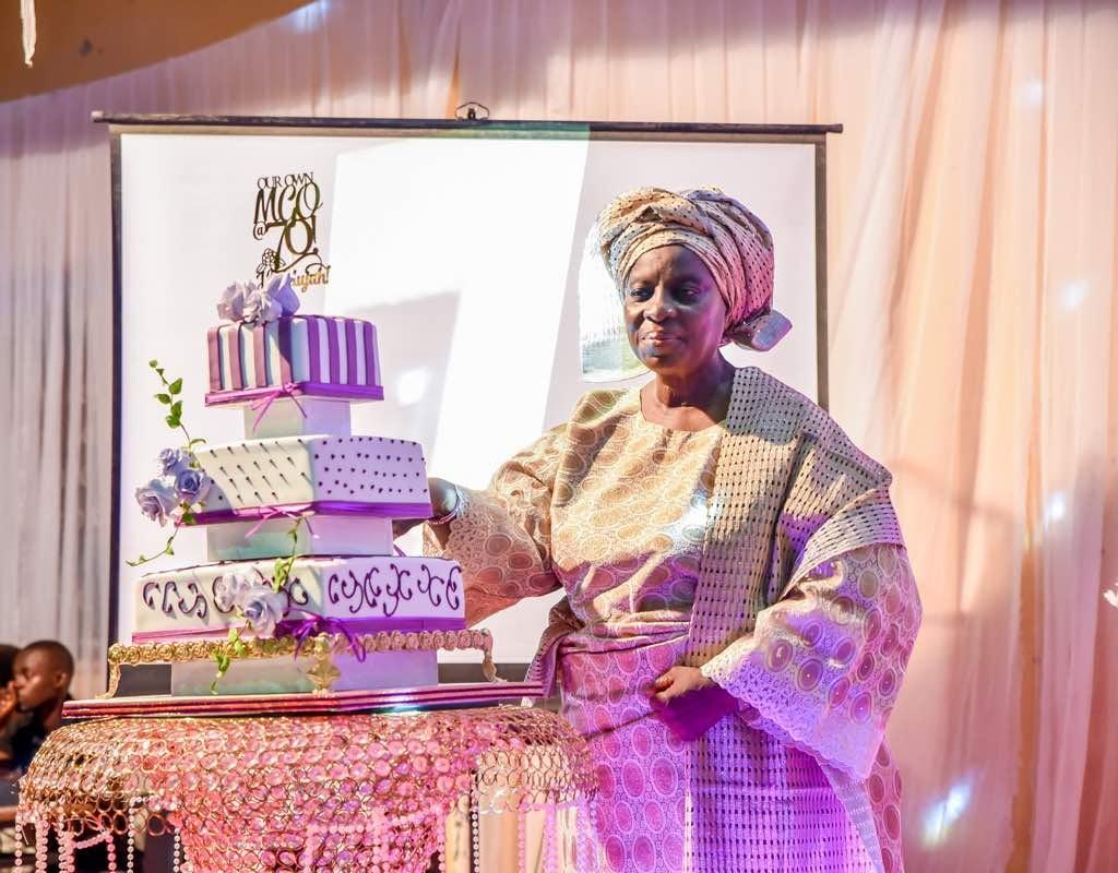 President Buhari Celebrates With Pastor Folu Adeboye at 70