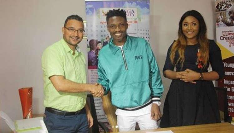 BBNaija's Efe becomes African Ambassador for Indian Varsity