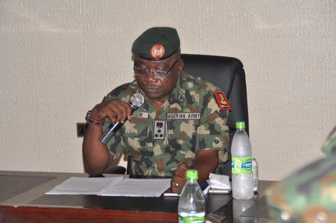 Director Defence Information, Brig. Gen. John Agim Press Briefing On Activities Of Operation Sharan Daji