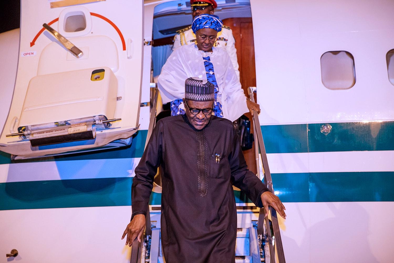 Aisha Buhari Returns From UNGA