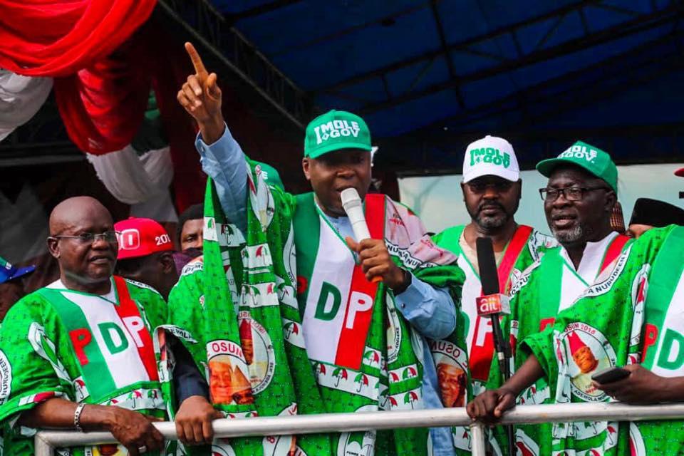 Senate President Bukola Saraki Berates INEC For Declaring Osun Gubernatorial Election Inconclusive