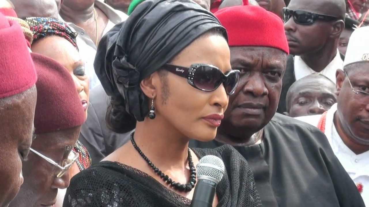 APGA Will Suffer Repercussions - Ojukwu's Widow Blasts