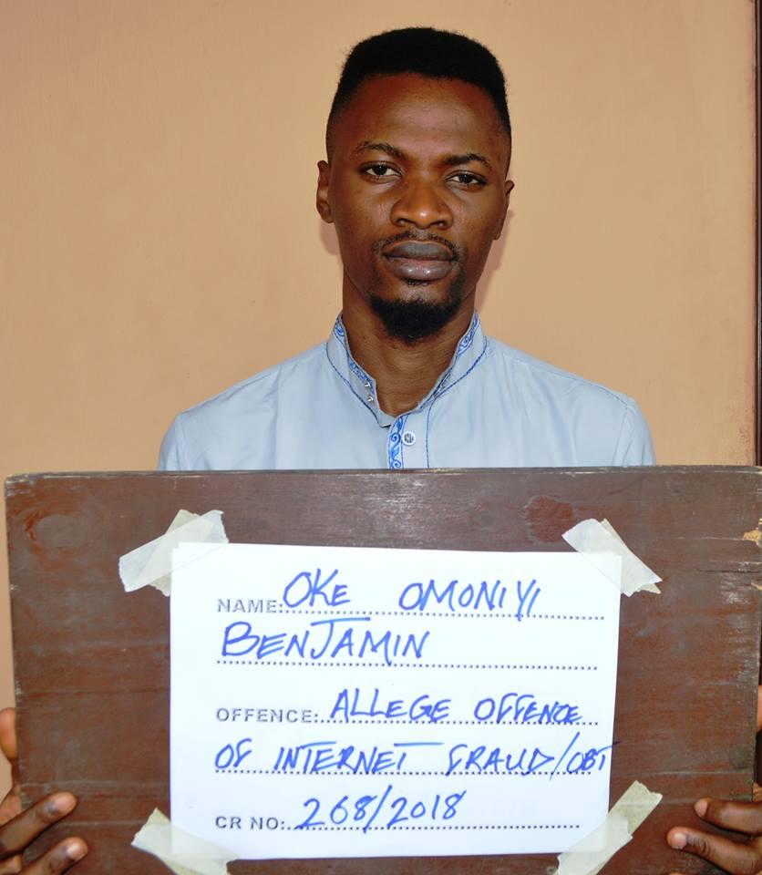 EFCC Arrest Man Over Online Scam