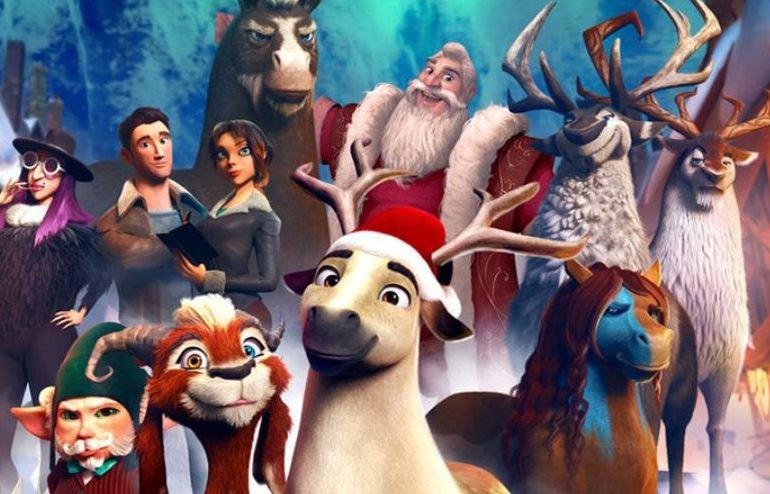 "AY, Omoni Oboli Make Hollywood Debut in ""Elliott: The Littlest Reindeer"""
