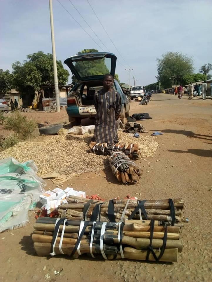 Nigerian Army Arrest Notorious Gun Runner