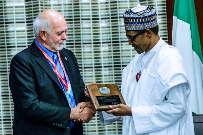 President Buhari Bags Polio Champion Award