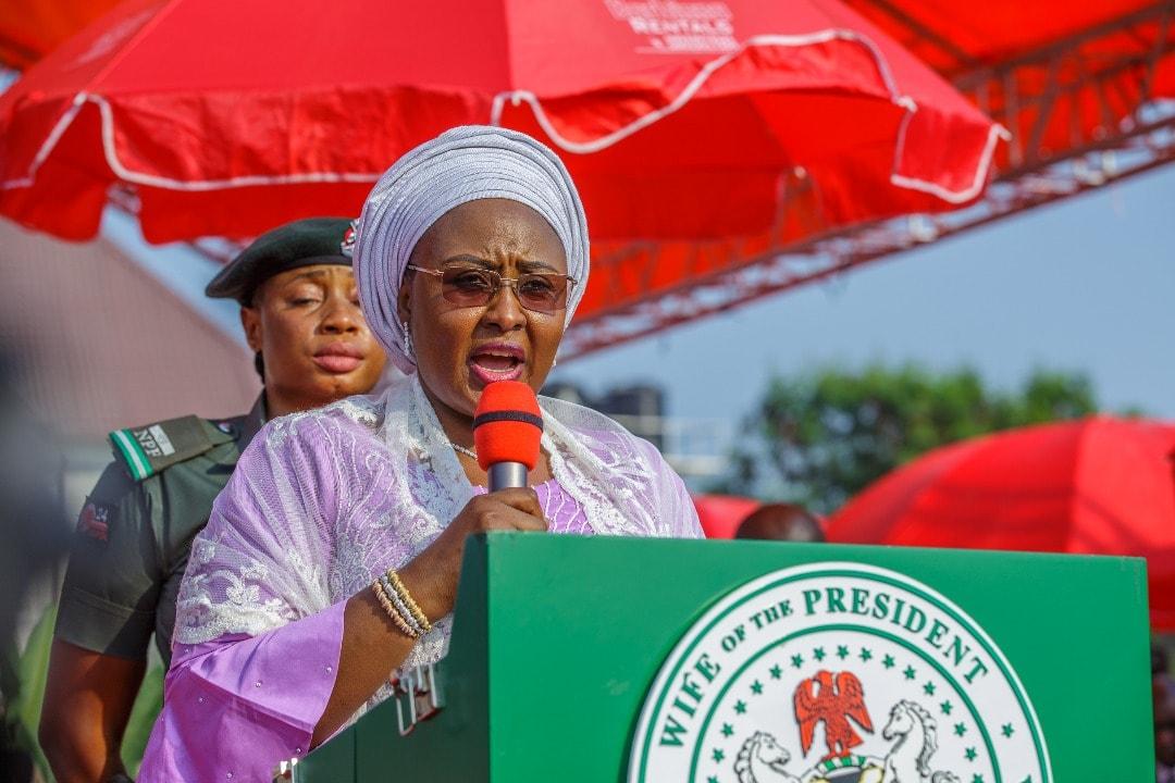Aisha Buhari Restates Resolve On Poverty Reduction