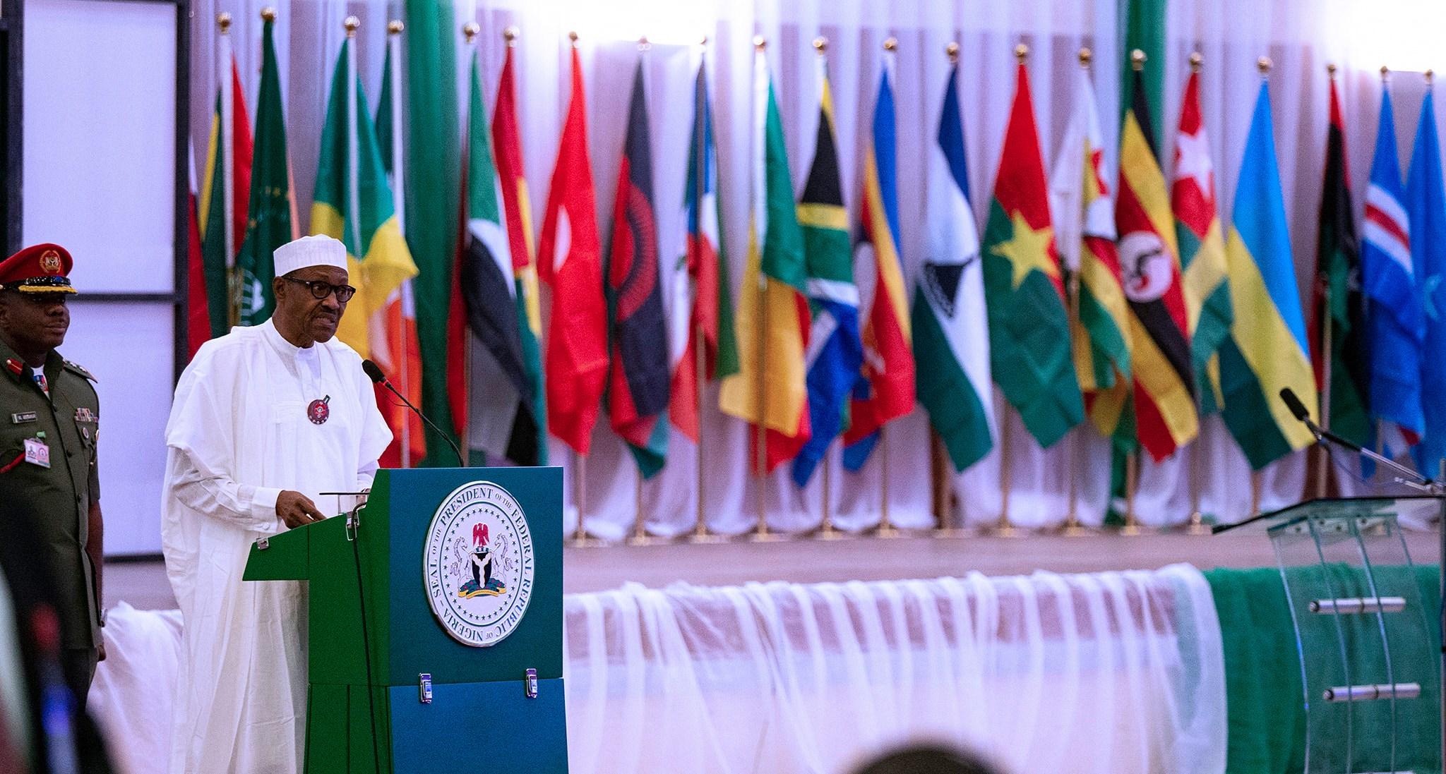 President Buhari Launches Congress Against Corruption