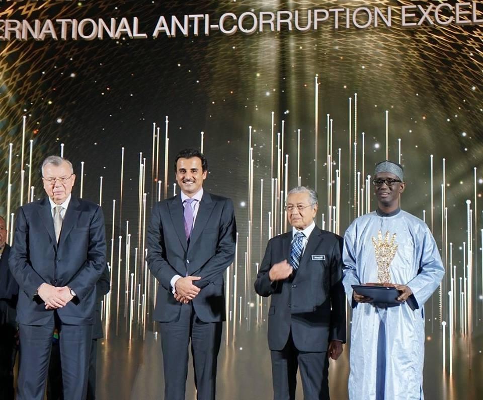 President Buhari Congratulates Nuhu Ribadu On Conferment Of Global Anti-Corruption Award