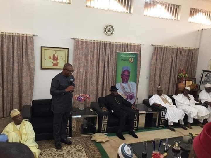 Jonathan, Obi Visit Shagari's Family
