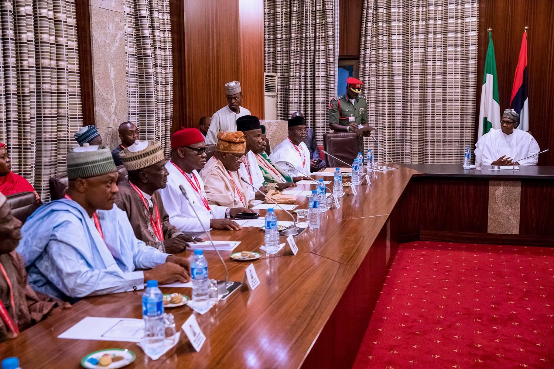 Your Belief In One Nigeria Admirable, President Buhari Tells Coalition Of Progressive Parties