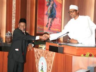 Why I Suspended CJN Onnoghen - President Buhari