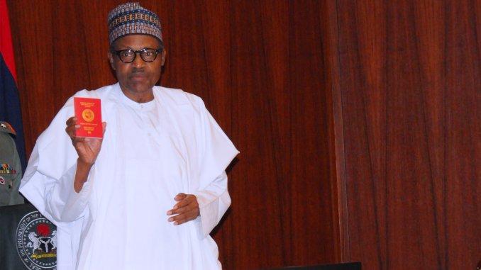 President Buhari Launches New 10-year International Passport