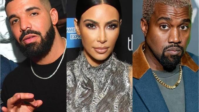 Kanye West Demands Public Apology From Drake for Following Kim Kardashian