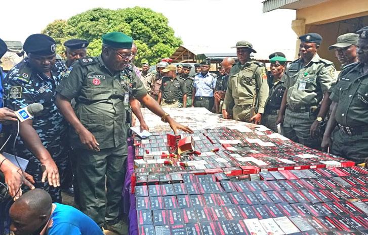Police Intercept 34,000 Live Cartridges From Togo