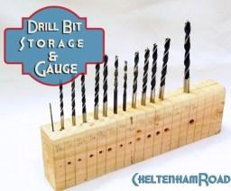 Drill Bit Holder & Guage by Cheltenham Road