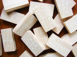 DIY Dominoes By A Beautiful Mess
