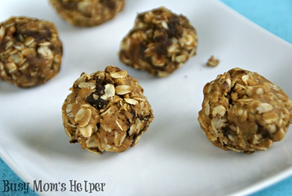 Peanut Butter Energy Balls / by Busy Mom's Helper for SayNotSweetAnne.com #PeanutButter #HealthySnack #Energy