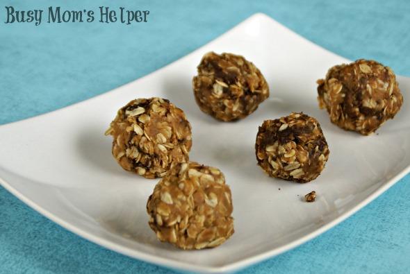 Peanut Butter Energy Balls / by Busy Mom's Helper for SayNotSweetAnne.com #PeanutButter #HealthySnack #Energy