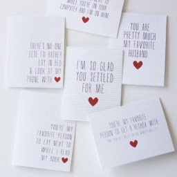 Printable Funny Valentine's Day Cards by Landeelu