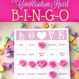 Printable Valentine's Bingo by saynotsweetanne