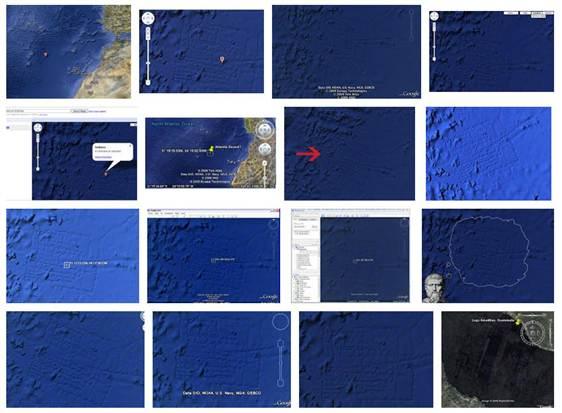 Google Earth gridlines