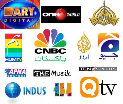 TV channels from Pakistan
