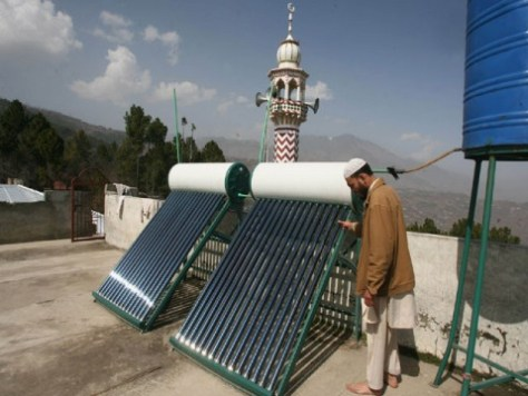 Pakistan is planning to get energy from sun