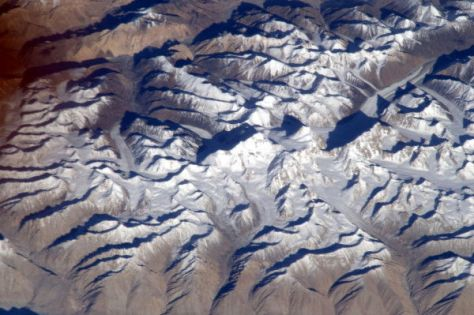 Mount Everest from space (Credit: Malenchenko/Russian Federal Space Agency)