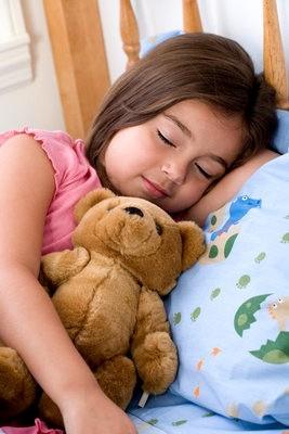 Child sleeping (Credit: Visualphotos)