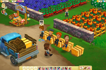 Screenshot of FarmVille 2 (Credit: Associated Press)