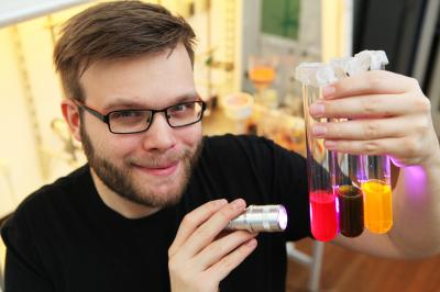 Novel dyes to enhance medical imaging (Credit: University of Copenhagen/ Jes Andersen)
