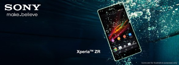 Sony Xperia ZR (Credit: Sony)