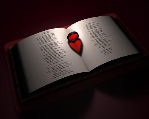 Heart in a book (Credit: Reapsert/Deviantart)