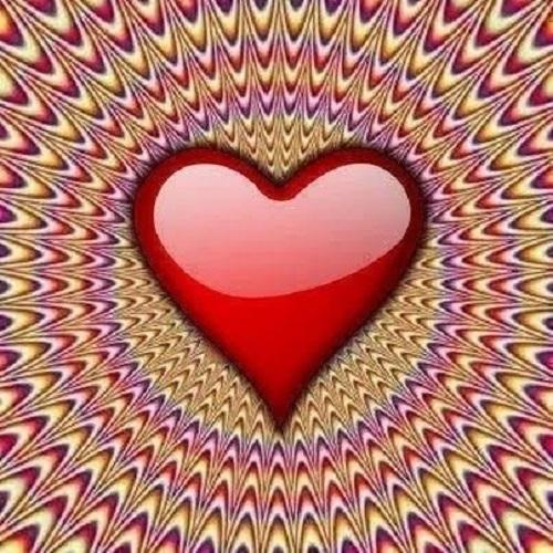Heart illusion (Artist unknown)