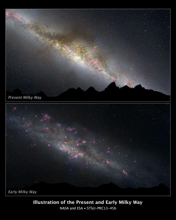Milky Way (Image credit: NASA and ESA)