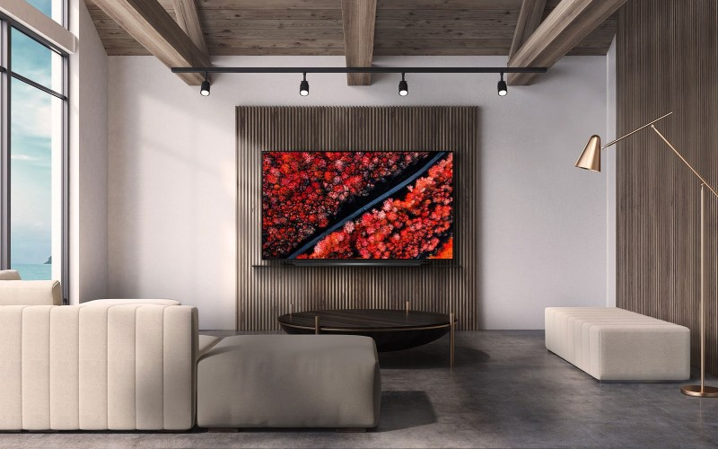 LG OLED TV in a room (Image source: LG)