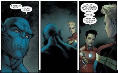 Civil War II no. 4 (2016) Brian Michael Bendis, David Marquez, Justin Ponsor