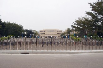 A middle school at Hsinchu Science Park.