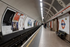 St Paul's Underground Station in London