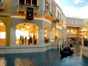 The Venetian at Las Vegas, Nevada.