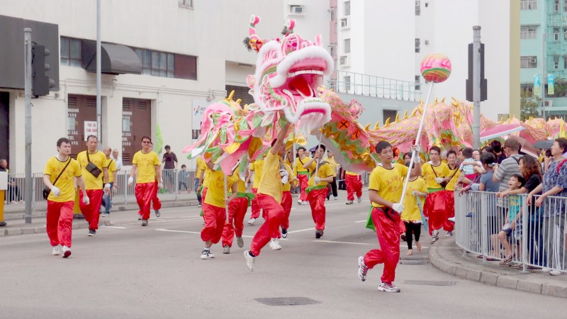 Tin Hau Festival in Hong Kong (2012)