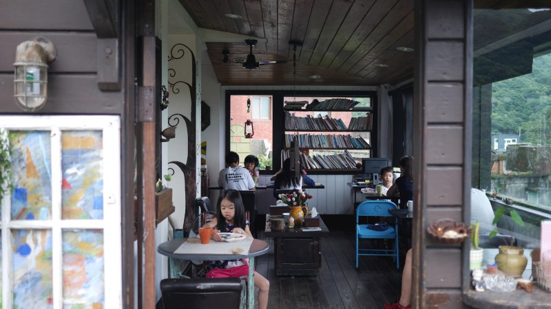 Taipei: Chilling at Sunny Room (陽光味宿) in Jiufen